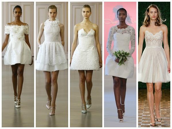Short Wedding Dresses Civil Ceremony - Wedding Dresses ...