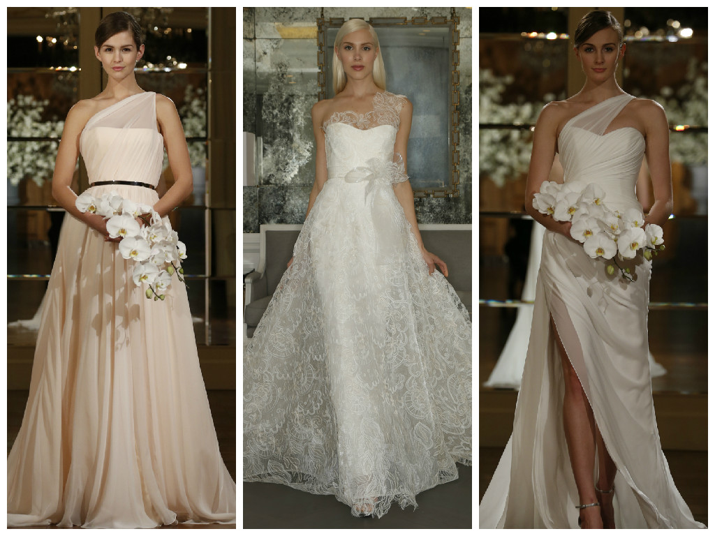 Let S Talk About One Shoulder Wedding Dresses