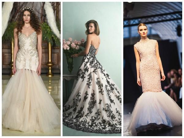 pink wedding dresses 2