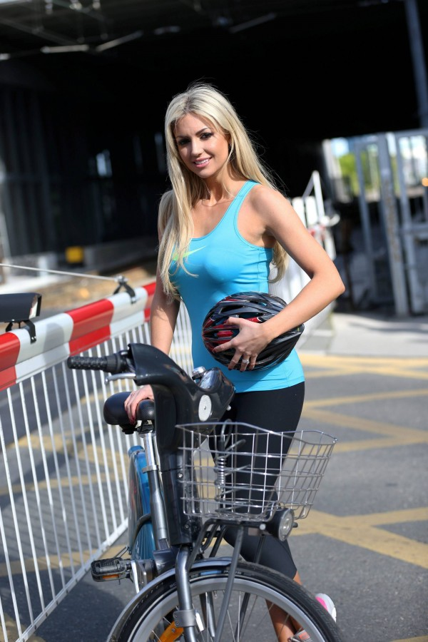 Rosanna Davison and Wes never argue, Irish model Rosanna Davidson
