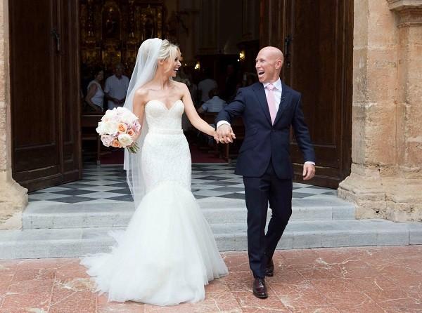 Peter Sringer weds Debbie O'Leary