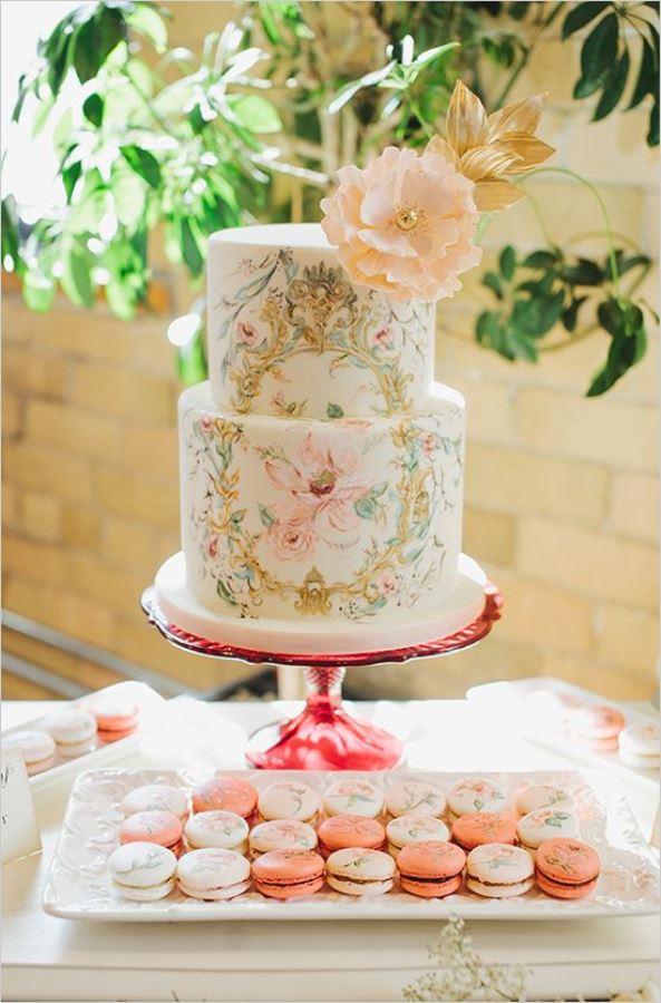Life s A Peach: New wedding colour trend