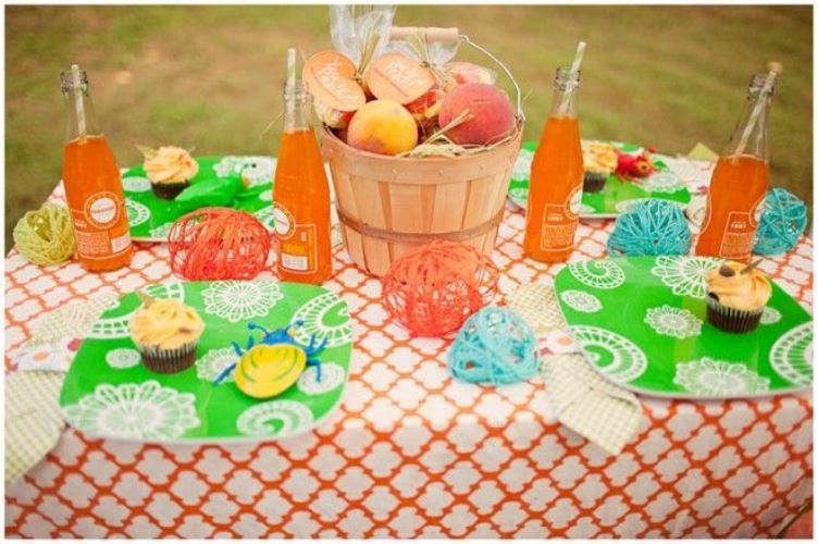 peach wedding inspiration
