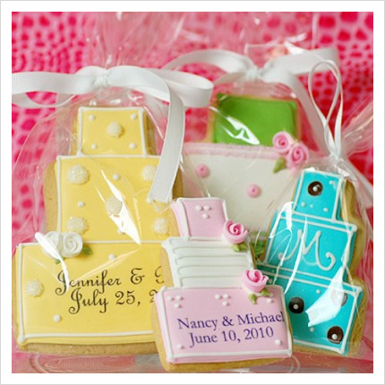 wedding cookies summer trend