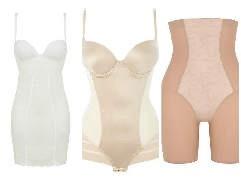 Bridal lingerie shape wear