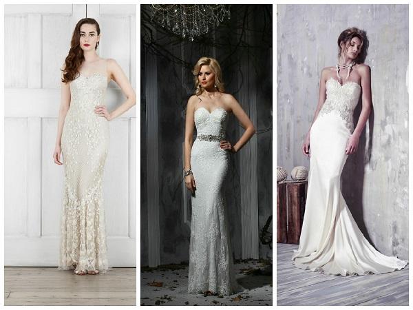 Julie Vino Designer White Wedding Dresses on holicoffee.com