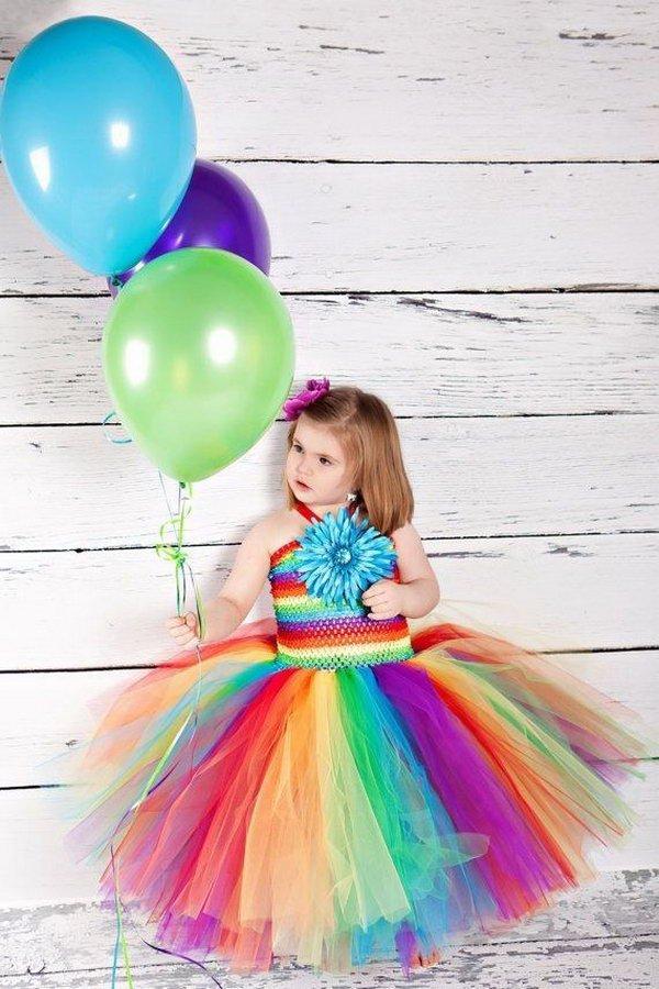 Rainbow wedding ideas Hative.com