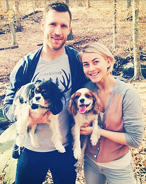 Julianne Hough gets engaged