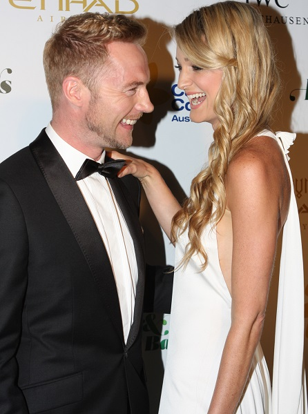 Ronan Keating and Storm Uechtritz's wedding