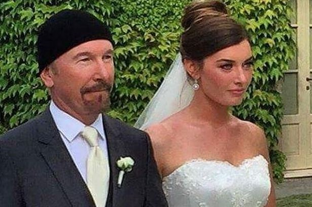 The Edge and daughter Hollie