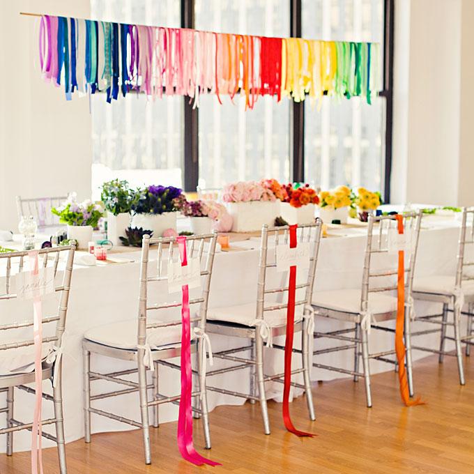 ainbow-wedding-style-ideas-color-scheme- Brides.com