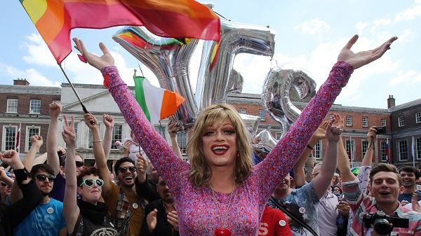 The marriage equality bill has been signed into Irish constitution