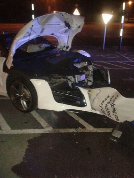 Groom missed his own wedding after supercar police chase