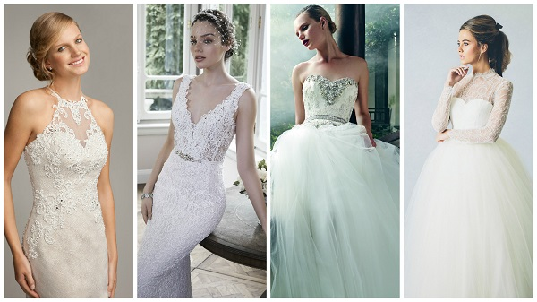 How to choose a wedding dress that flatters your body shape