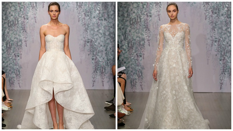 Monique Lhuillier New York Bridal Week 3
