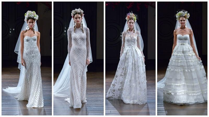 Naeem Khan New York Bridal week 2