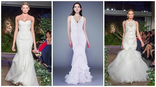 Drop waisted wedding dress inspiration – 37 stunning styles