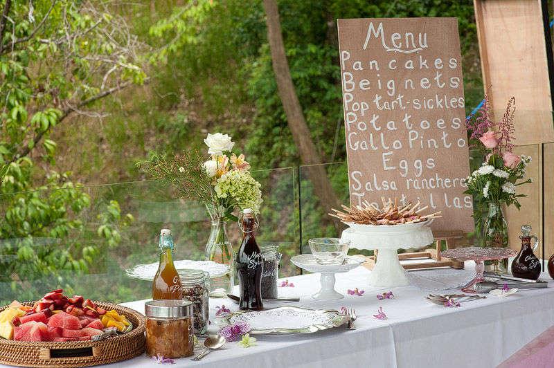 Brunch wedding ideas 6