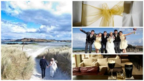 Alternative wedding venues - Five fabulous islands in Ireland