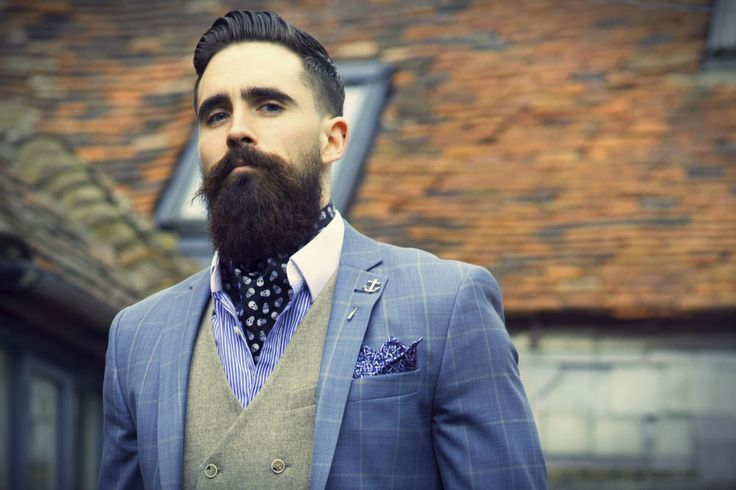 Groom cravat - image Pinterest