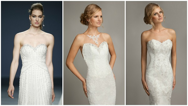40 fab wedding dresses with bling, gemstones and sparkle