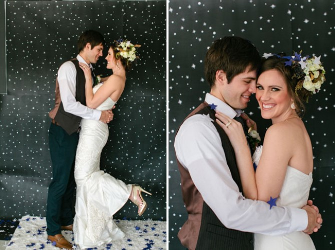 intergalactic wedding inspiration