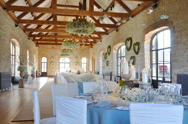 The Carriage Rooms wedding decor 1
