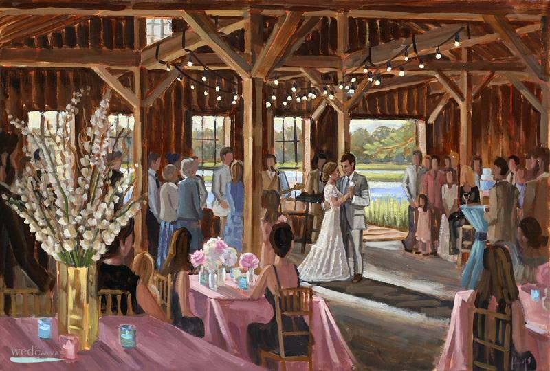 New trend alert – Introducing the wedding painter