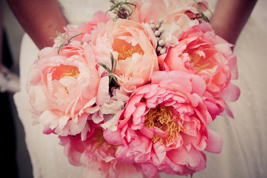 peony bridal bouquet 3