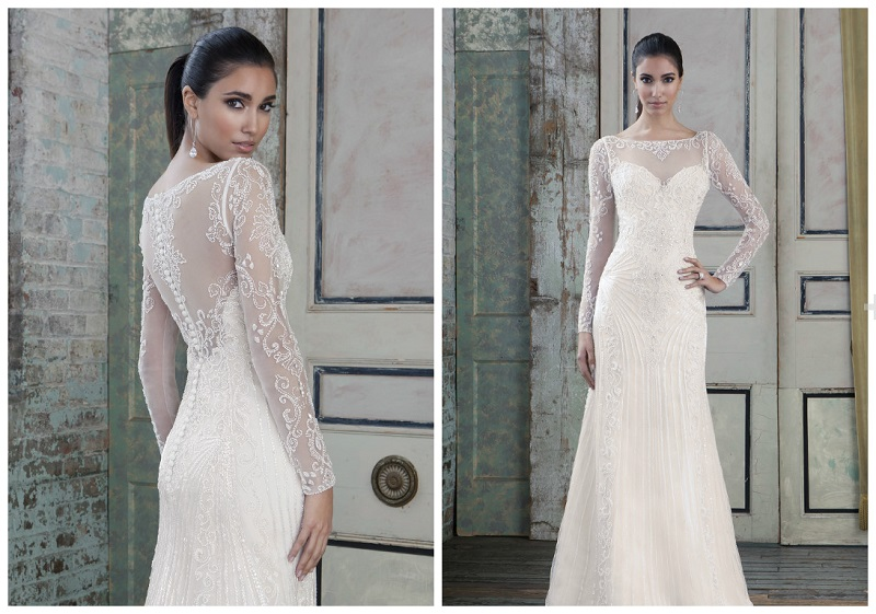 Top 30 of the very latest winter wedding dresses – in shops now!