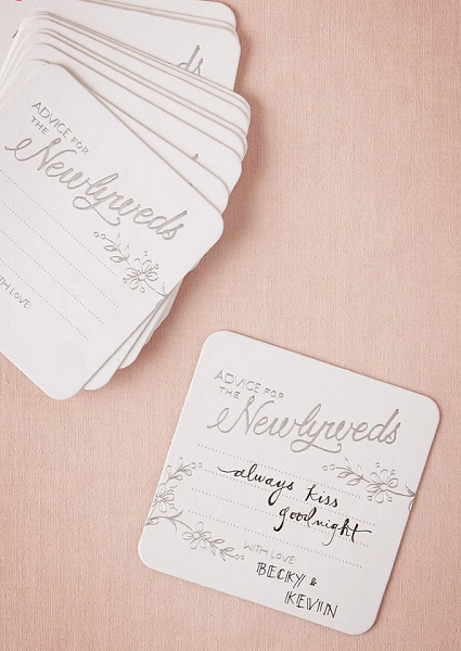 Top twelve non-traditional wedding guest book alternatives