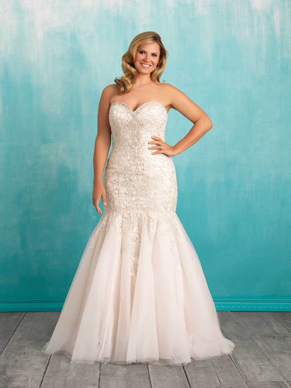 curvy bride blogger photo series