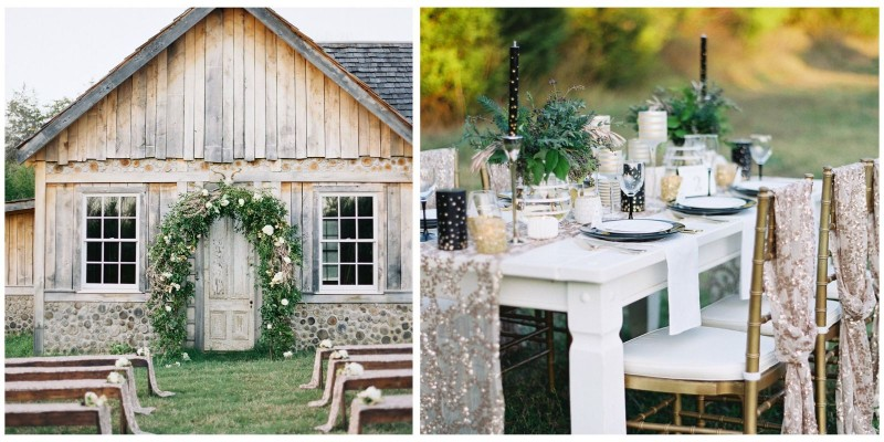 Barn wedding ideas Countryliving.com