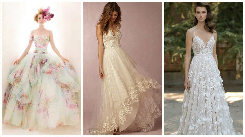 Pinterest spring wedding inspiration dress