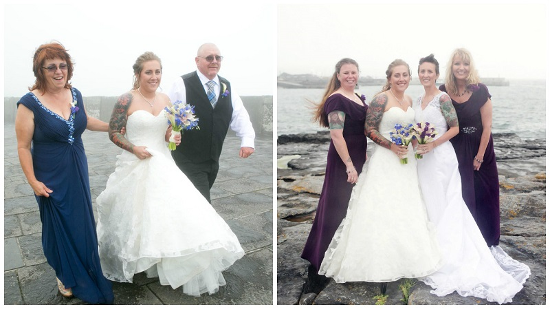 Real Irish Wedding - Kristina Messenger & Jennilee Messenger