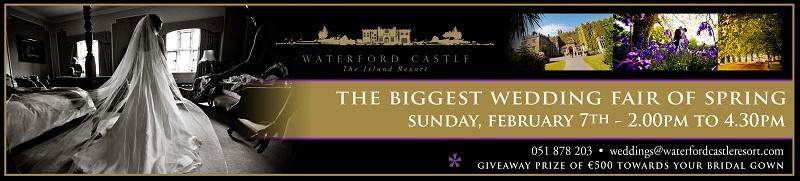 Waterford Castle announce Biggest Spring Wedding Fair