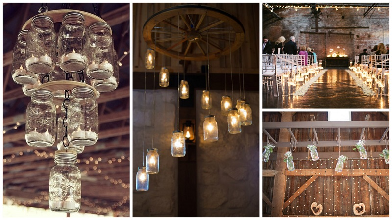 barn wedding lighting ideas