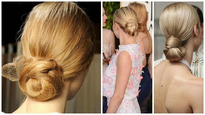 wedding hair trends - low bun