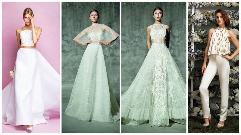 two-piece wedding dress 10