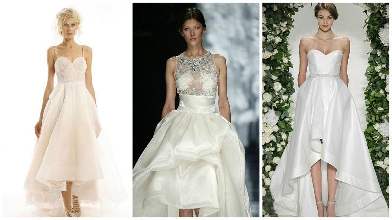 asymmetrical wedding dresses 3