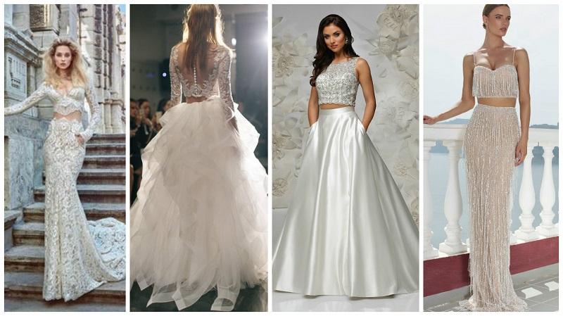 two-piece wedding dress 5