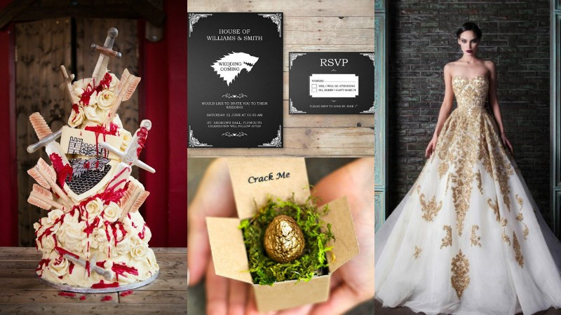 The Very Best Geek-Chic Wedding Themes