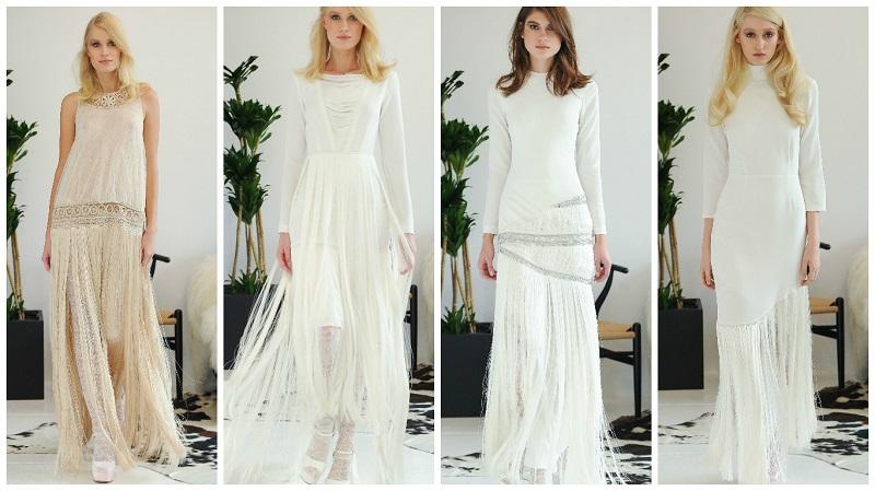 fringed wedding dress 5
