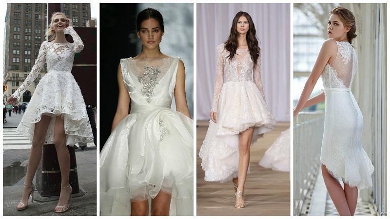 asymmetrical wedding dresses 1