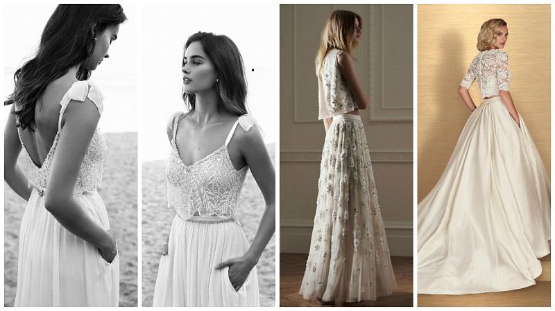 two-piece wedding dress 7