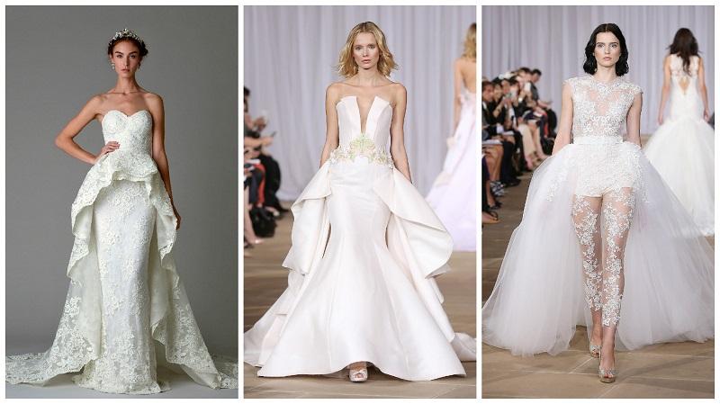 asymmetrical wedding dresses 7