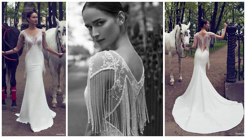 fringed wedding dress 3