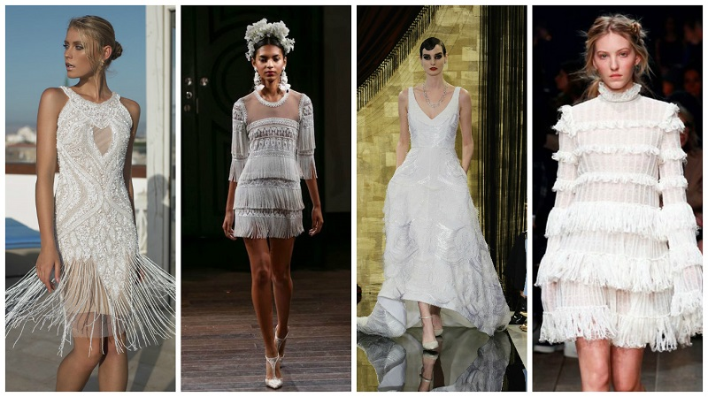 fringed wedding dress 7