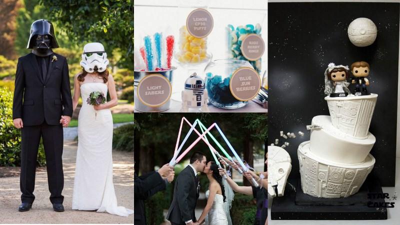 geek-chic wedding theme inspiration