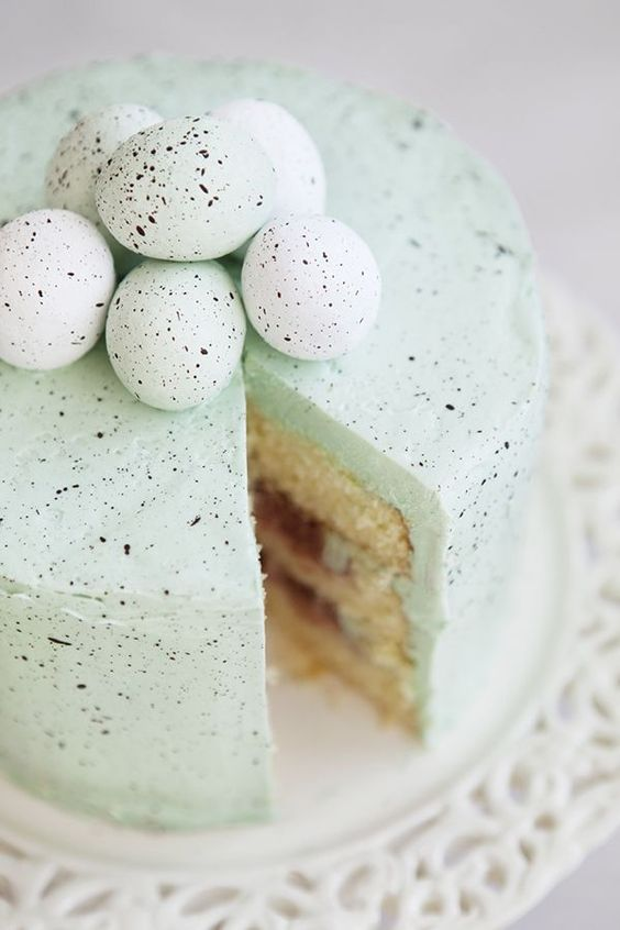 easter wedding inspiration - cakes 2